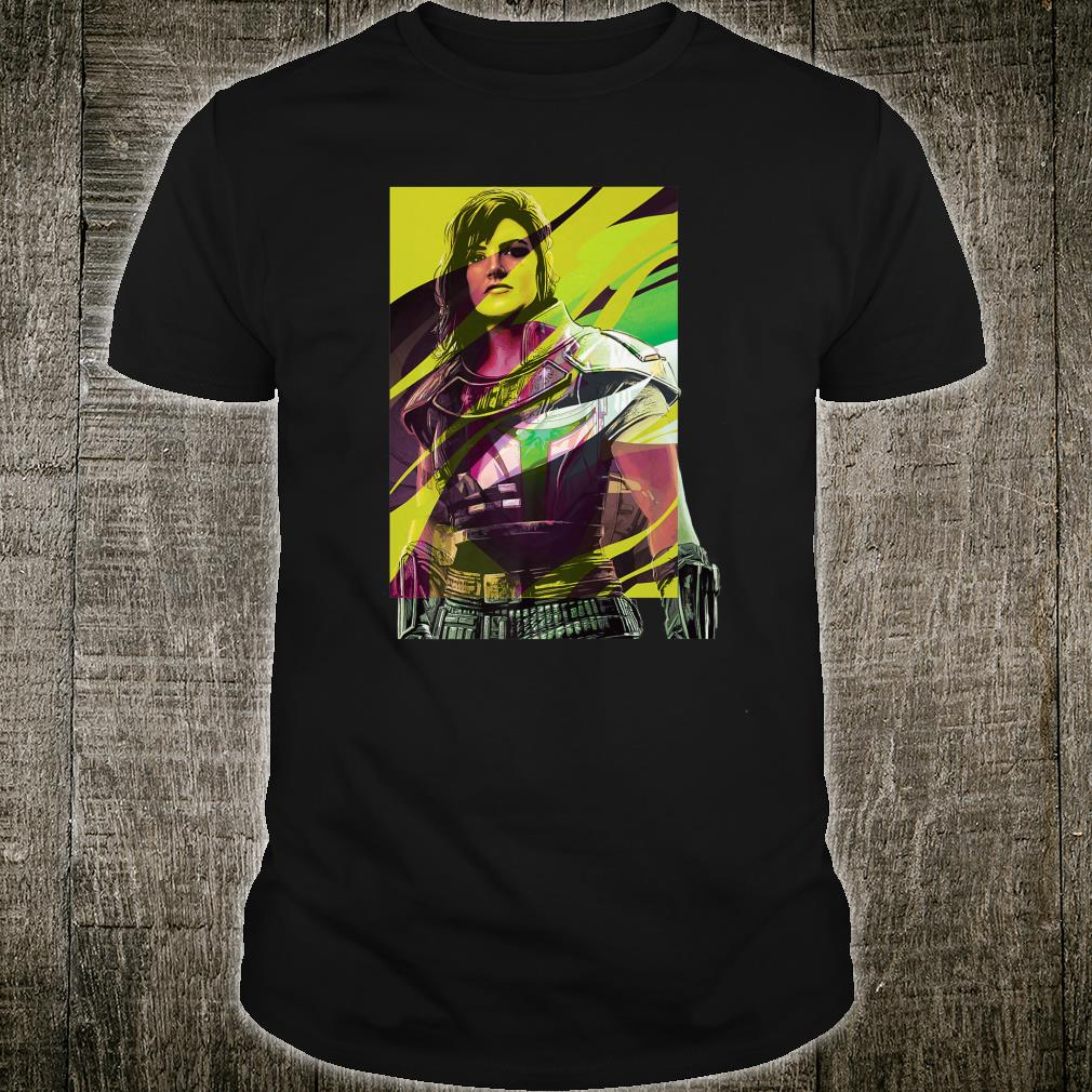 Star Wars The Mandalorian Cara Dune Shirt