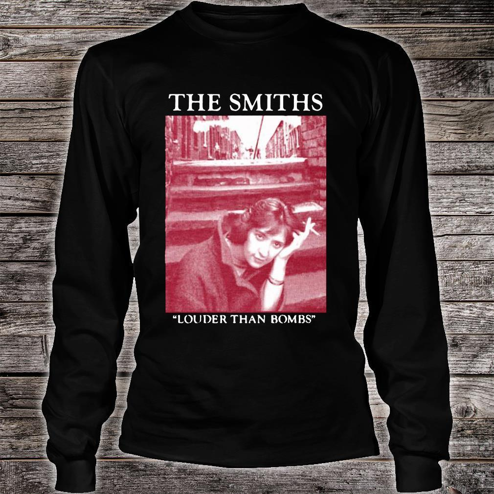 The Smiths Louder Than Bombs Shirt long sleeved
