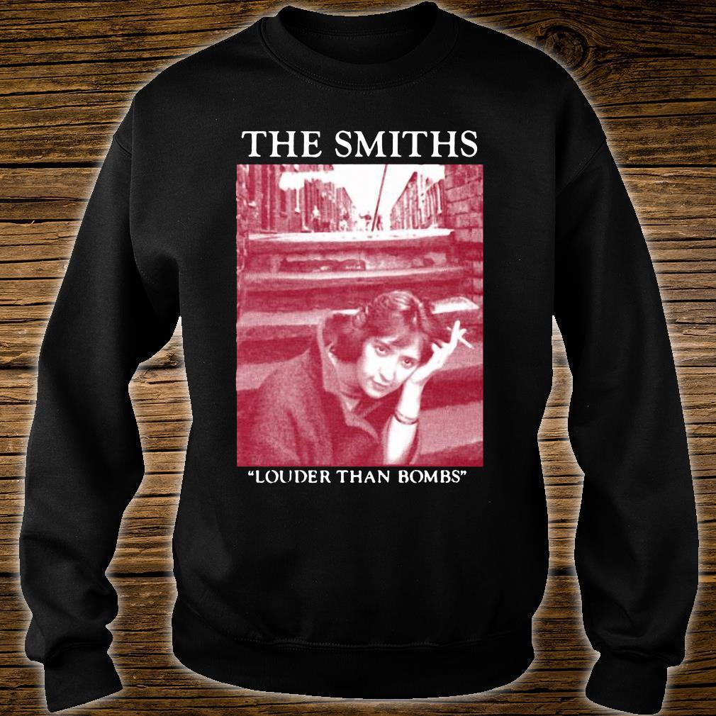 The Smiths Louder Than Bombs Shirt sweater