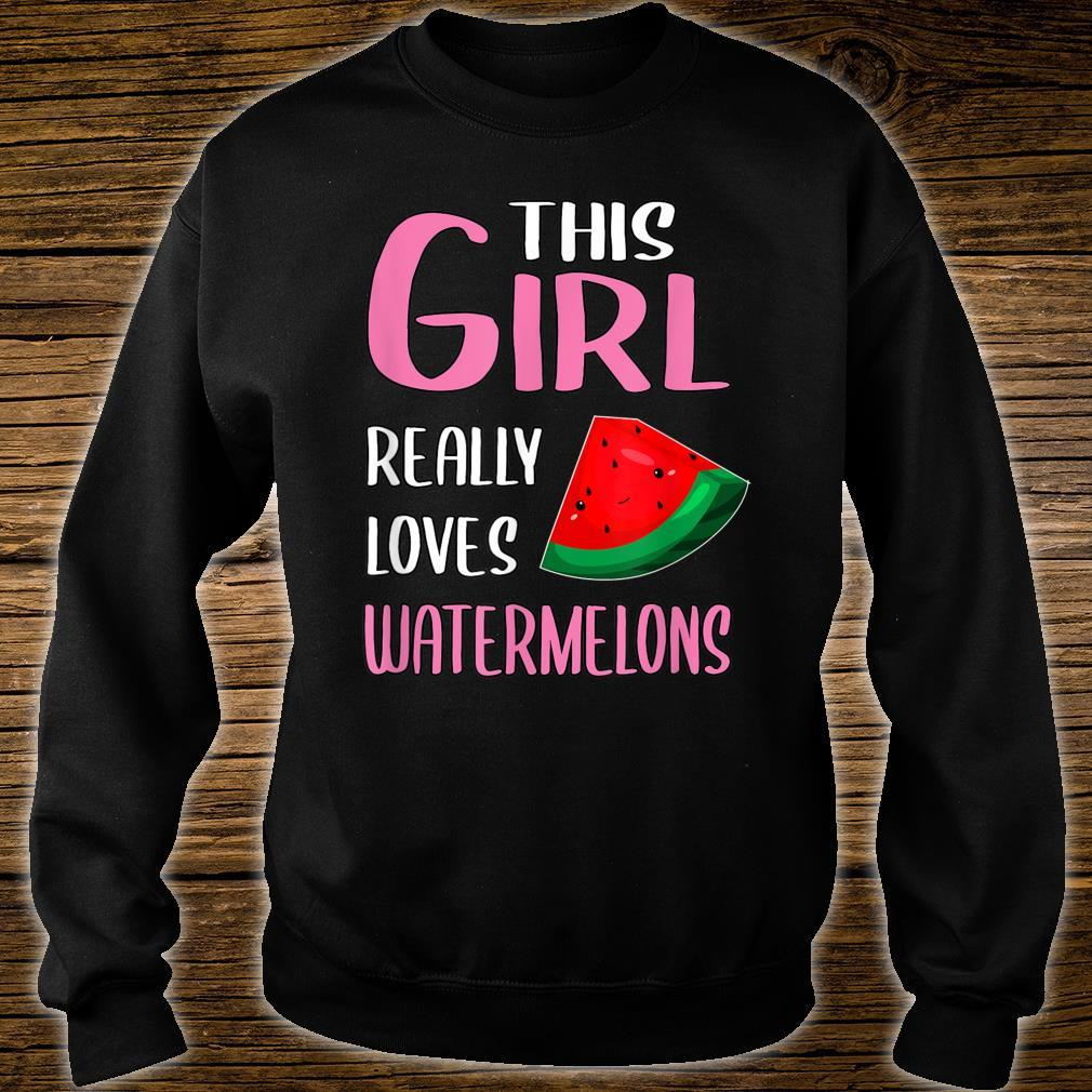 This Girl Really Loves Watermelons Shirt sweater