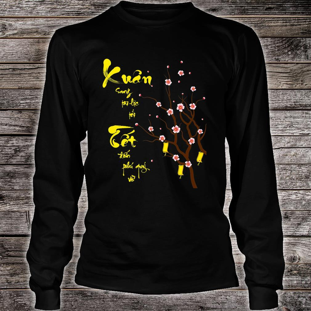 Vietnamse New Year 2021 Designs Shirt long sleeved