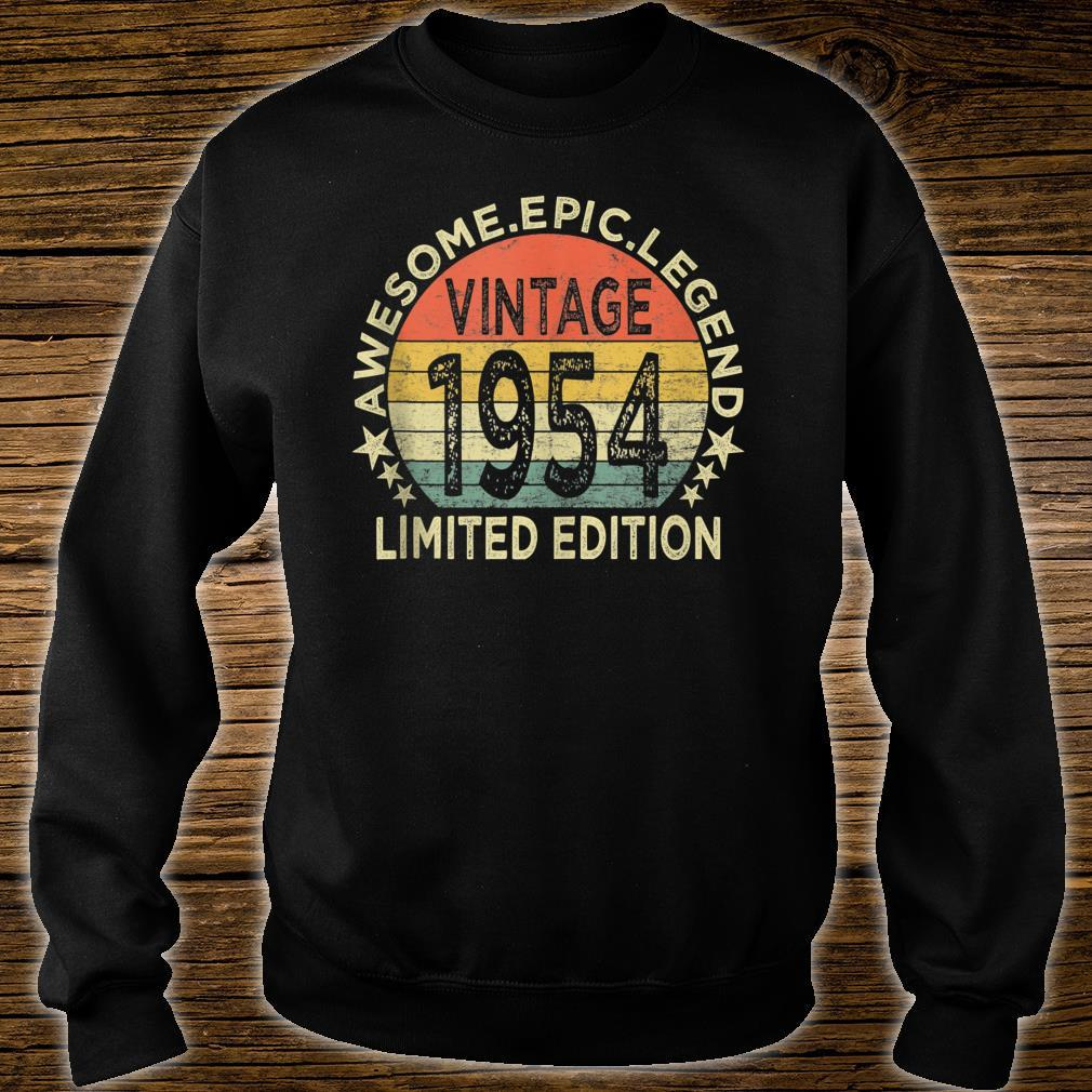 Vintage 1954 Limited Edition 67 Year Old 67th Birthday Shirt sweater