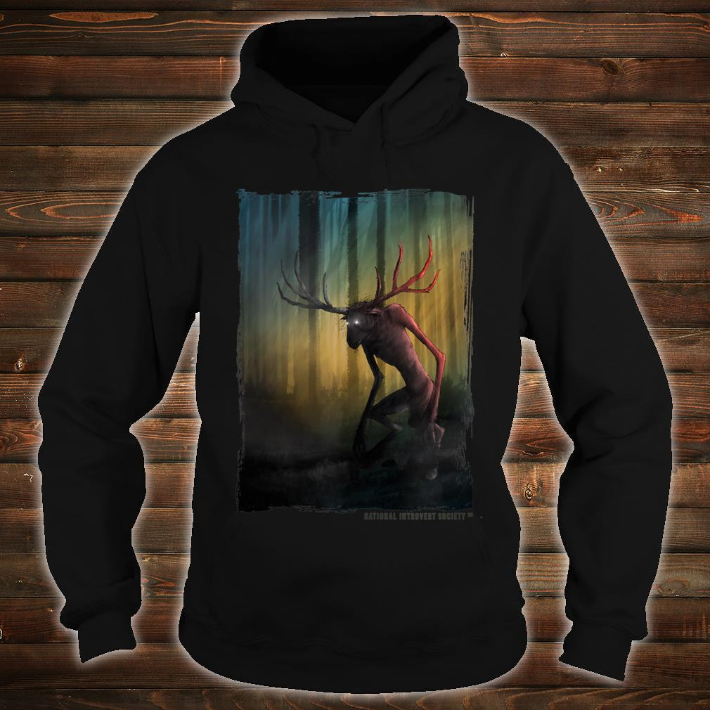 Wendigo Cool Original Cryptid Artwork Shirt hoodie