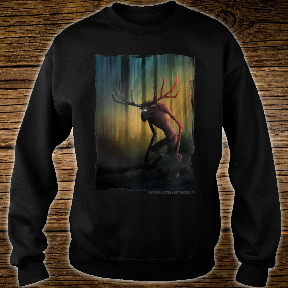 Wendigo Cool Original Cryptid Artwork Shirt sweater