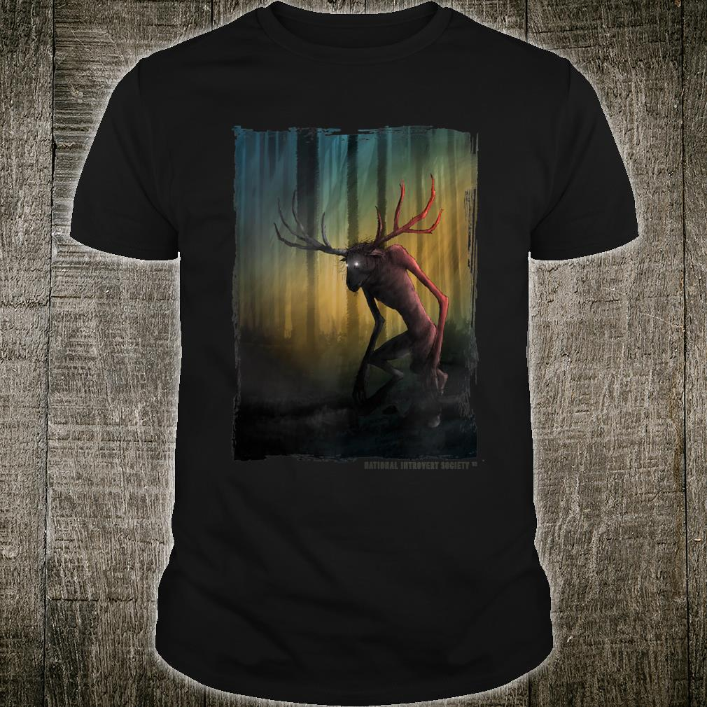 Wendigo Cool Original Cryptid Artwork Shirt