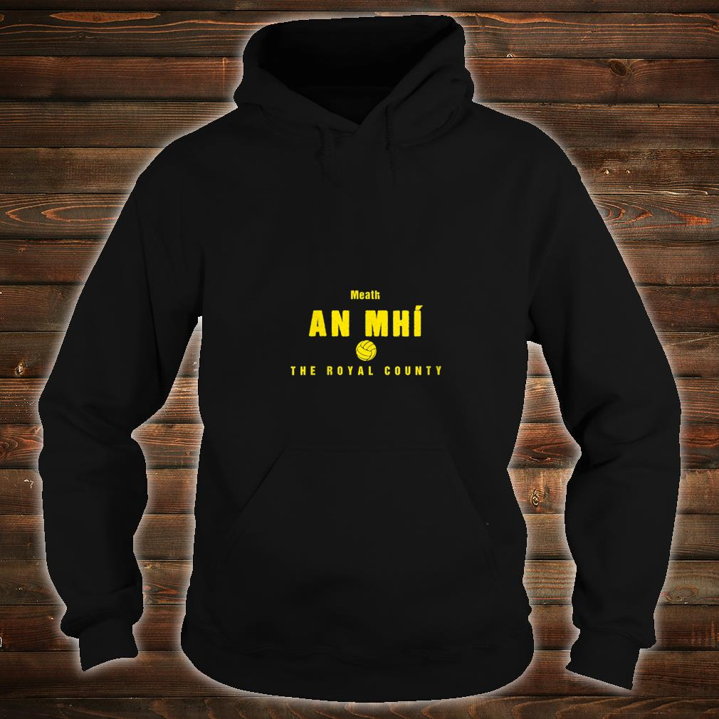 Womens Meath Supporters Gaelic Football and Hurling Shirt hoodie