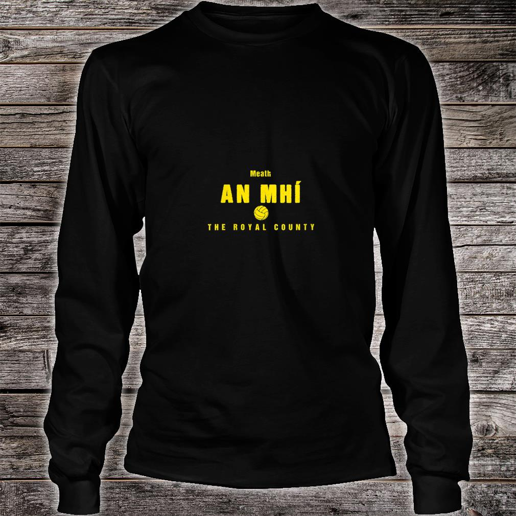 Womens Meath Supporters Gaelic Football and Hurling Shirt Long sleeved