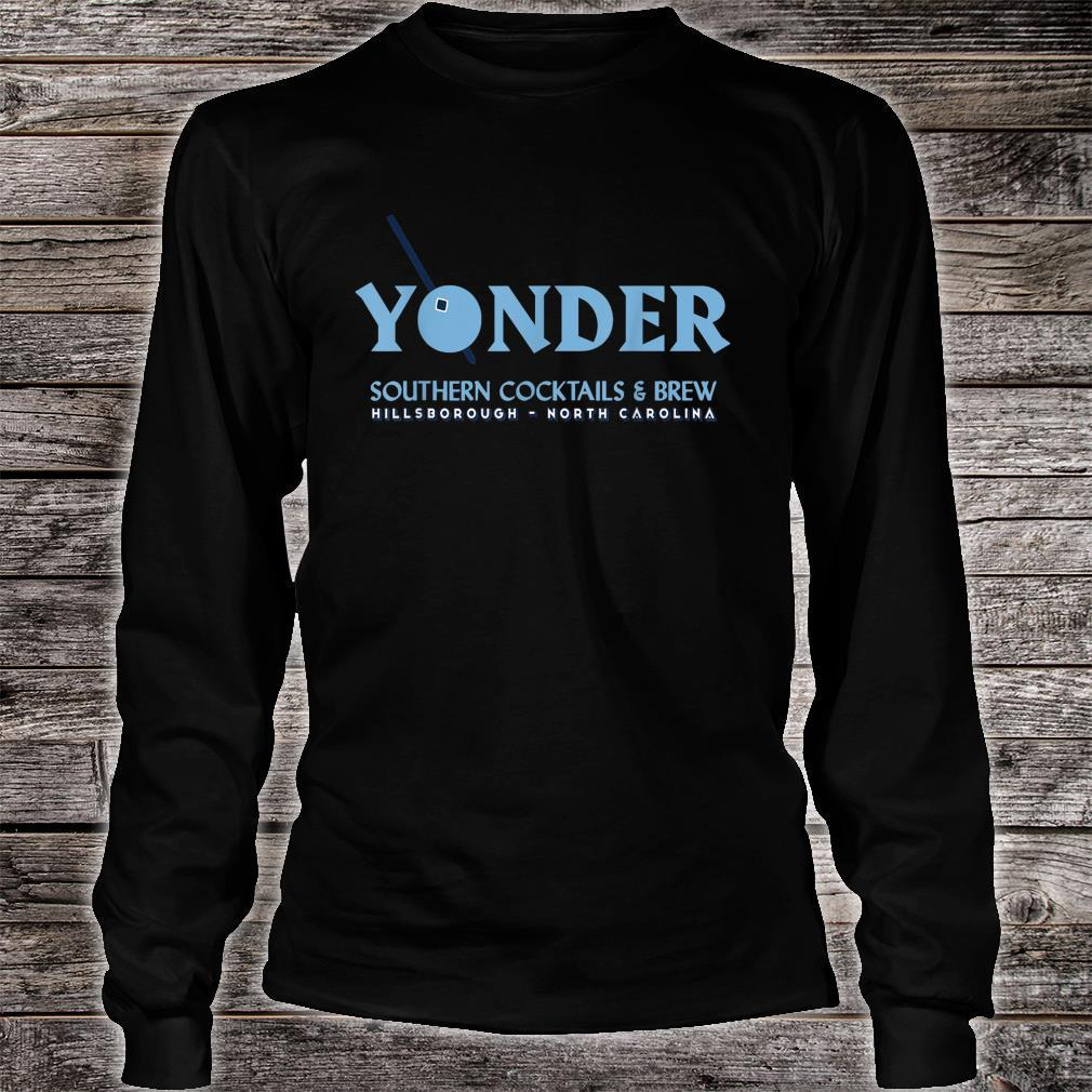 Yonder Logo designed by Libby Cole Shirt long sleeved