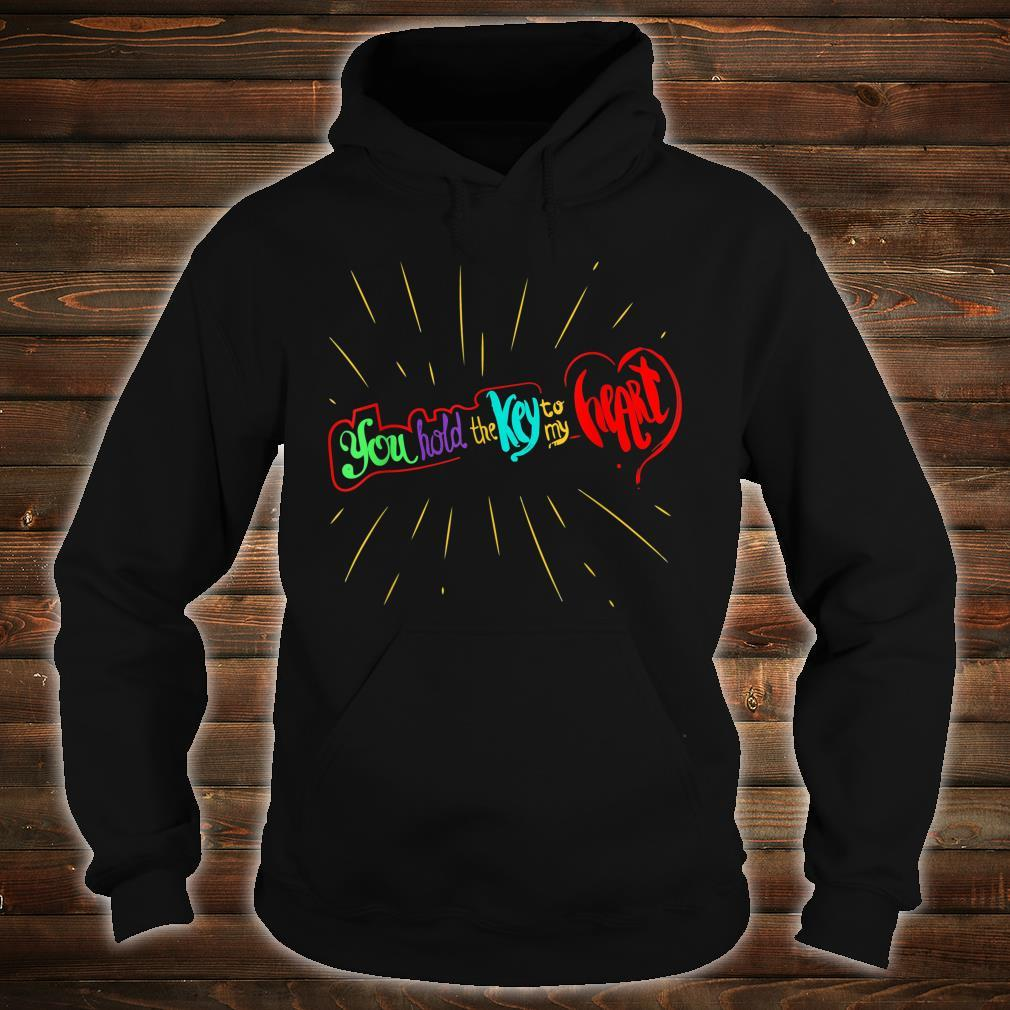 You Hold The Key To My Heart Valentines Day Couples Shirt hoodie