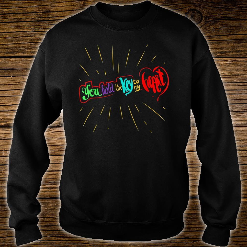 You Hold The Key To My Heart Valentines Day Couples Shirt sweater